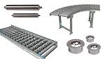Conveyor Rullbanor/Rullar/ Kulrullar/Axlar