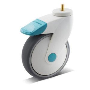 Icke magnetiska hjul 100x32 mm