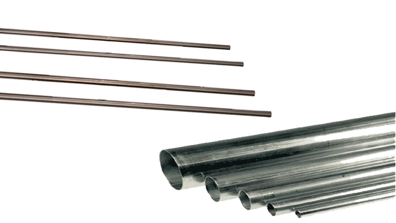 axlar-stålrör