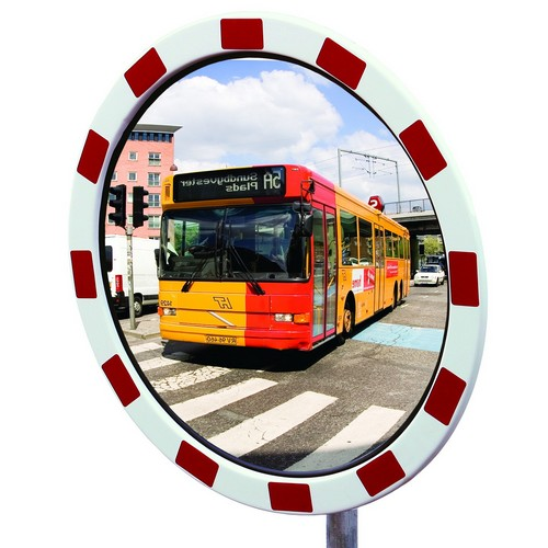 Rostfria Trafikspeglar