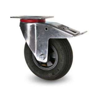 Kompletta luftgummihjul nylonfälg