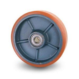 Gaffelvagnshjul - Polyuretan på stålfälg