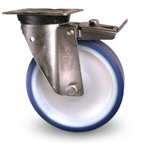 Industrihjul - Polyuretan, rostfritt, Serie C9:B