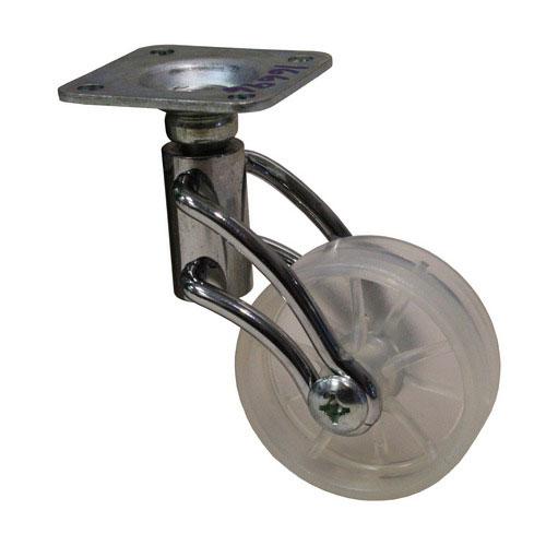Möbelhjul - Transparent