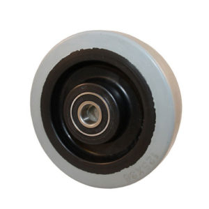1-komponent elastiskt gummihjul D4:B