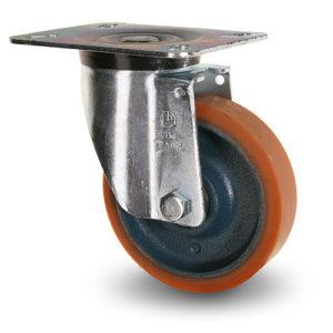 Industrihjul, kraftiga - Polyuretan