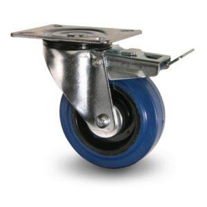 Industrihjul - Elastisk gummibana